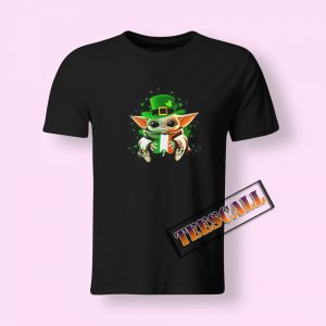 Baby Yoda Happy St. Patricks Day T-Shirt