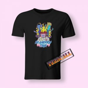 Beavis and Butthead Do America Tour T-Shirt