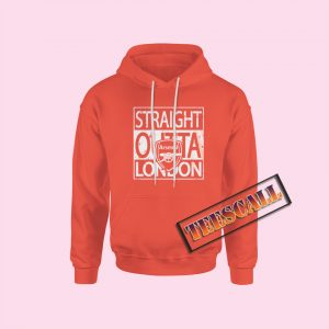Hoodies Straight Outta London Arsenal