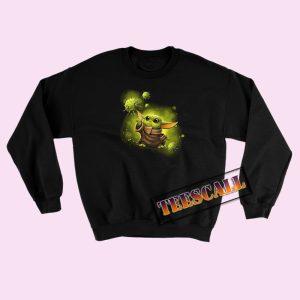 Baby Yoda Against Coronavirus Sweatshirts