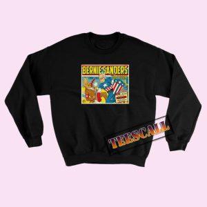 Bernie Sanders Captain America Sweatshirts