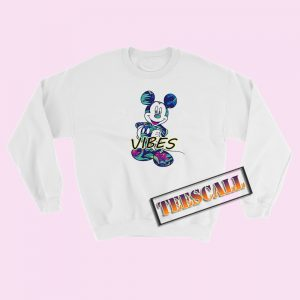 Disney Mickey Tropical Mint Sweatshirt