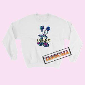 Disney Mickey Tropical Mint Sweatshirt