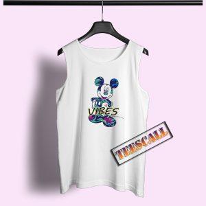 Disney Mickey Tropical Mint Tank Top