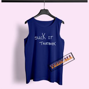Suck It Trebek Tank Top