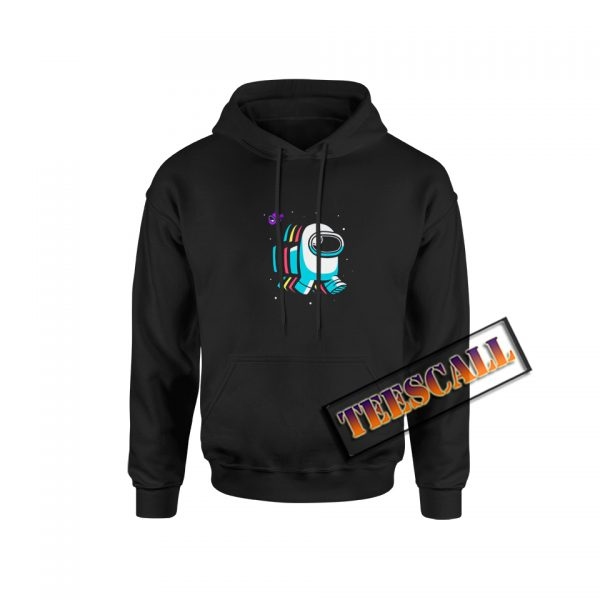 Amongalicious Funny Video Games Hoodie