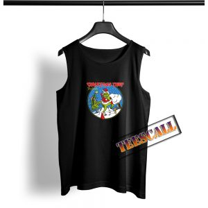 Christmas Thief The Grinch Tank Top