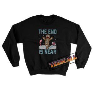 Christmas is Near Gingerbread Man Sweatshirt