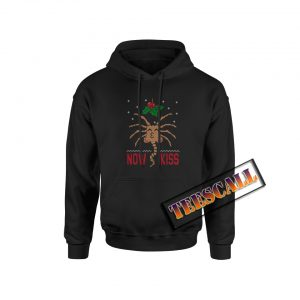 Now Kiss Ugly Christmas Hoodie