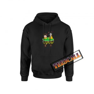 Water Mirror Reflection Rick And Morty Hoodie
