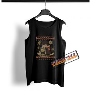 A Christmas Thief Ugly Christmas Tank Top