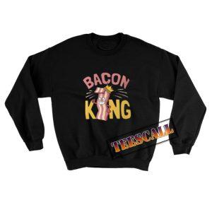 Bacon-King-Sweatshirt-Black