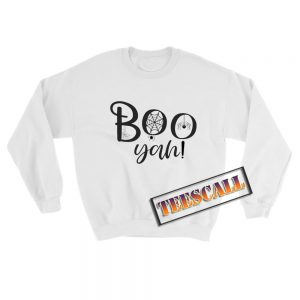 Boo-Yah-Sweatshirt-White