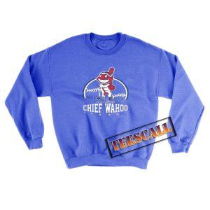 Chief-Wahoo-Sweatshirt-Blue-Navy