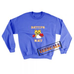 Batting-Cat-Sweatshirt