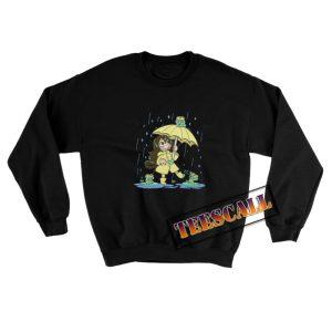 Best-Frog-Girl-Sweatshirt