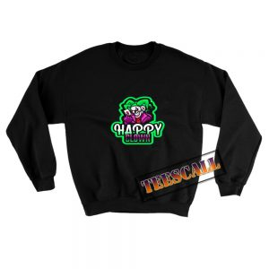 Happy Clown Crazy Sweatshirt 300x300 - TeesCall : Unsual Graphic Tees For Women's or Men's
