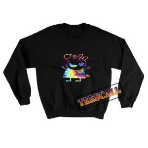 Peppa Pig Tie Dye Sweatshirt 300x300 - TeesCall : Unsual Graphic Tees For Women's or Men's