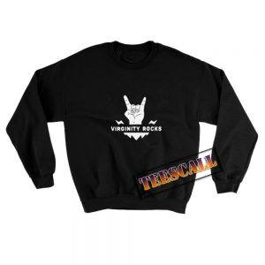 Virginity Rocks Sweatshirt 300x300 - TeesCall : Unsual Graphic Tees For Women's or Men's