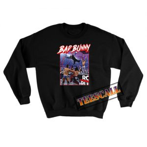 Bad Bunny Wwe Sweatshirt