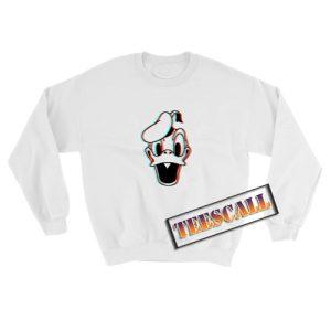 3D Donald Duck Sweatshirt