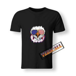 4th Of July Bald Eagle T-Shirt