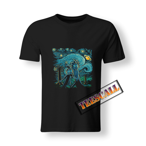 Rick And Morty Art T-Shirt