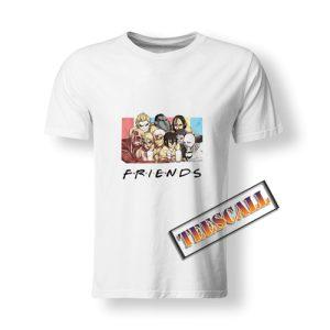 Attack On Titan Friends T-Shirt